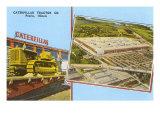 Caterpillar Tractor Company, Peoria, Illinois Kunstdrucke
