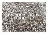 Massive Crowd, Graduation Poster