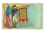 4th of July, Soldier with Bugle Prints