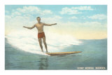 Surfer, Hawaii Posters