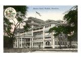 Moana Hotel, Waikiki, Hawaii Posters
