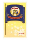 Flag of Idaho Print