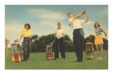 Coed Golfing Posters