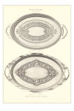Fancy Serving Platters Photo