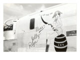 Nose Art, Miss Jolly Roger, Pin-Up Print
