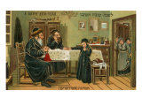 Hebrew Happy New Year, Kitchen Scene Posters