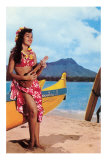 Hula Girl by Outrigger, Hawaii Print