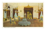 Throne Room, Old Capitol, Hawaii Posters