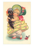 Little Southern Belle and Black Cat Prints