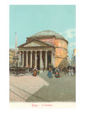 The Pantheon, Rome, Italy Prints