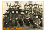 Class Picture of Witches Prints