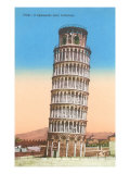 Leaning Tower of Pisa, Italy Prints