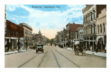 Broadway, Logansport, Indiana Posters