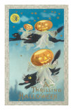 Flying Black Cats, Jack O'Lanterns Posters