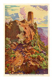 Watch Tower, Grand Canyon Poster