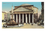The Pantheon, Rome Art