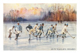 Ice Hockey, Sun Valley, Idaho Posters