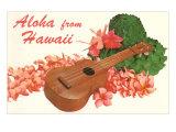 Aloha from Hawaii, Ukulele Poster