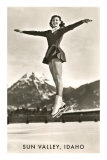 Sun Valley, Idaho, Skater in Air Prints