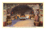 Fireplace at Hermit&#39;s Rest, Grand Canyon Posters