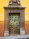 Entrance With Angels, San Miguel, Guanajuato State, Mexico Photographic Print by Julie Eggers