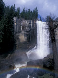 Vernal Fall, Yosemite National Park, California, USA Photographic Print by Julie Bendlin