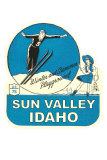 Sun Valley, Idaho, Winter and Summer Playground Posters
