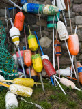 Lobster Buoys, Thatcher Island, Rockport, Cape Ann, Massachusetts, USA Photographic Print by Walter Bibikow