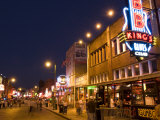 Famous Beale Street, Memphis, Tennessee, USA Photographic Print by Bill Bachmann