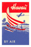Hawaii by Air, Outrigger Prints