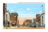 Franklin Street, Michigan City, Indiana Posters