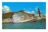 Surf Riders, Hawaii Posters