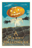 Merry Halloween, Jack O'Lantern by Wall Posters