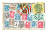 Old Stamps of Hawaii Prints