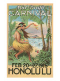 Mid-Pacific Carnival Poster, Hawaii Pósters