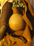 Pottery Jug, Burkina Faso, West Africa Photographic Print by Ellen Clark