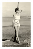 California World War II Bathing Beauty Photo