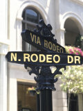 Famous Rodeo Drive, Los Angeles, California, USA Photographic Print by Bill Bachmann