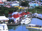 Aerial View, St. John, Antigua Photographic Print by Bill Bachmann