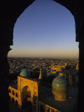 View of Kalyan Mosque,Bukhara, Uzbekistan Photographic Print by Ellen Clark