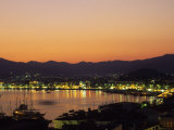 unset over Marmaris Harbor, Turquoise Coast, Turkey Photographic Print by Ellen Clark