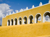 Franciscan Convent of San Antonio De Padua, Izamal, Yucatan, Mexico Photographic Print by Julie Eggers