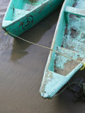 Fishing Boat, Barra De Potosi, Guerrero, Mexico Lámina fotográfica por Walter Bibikow