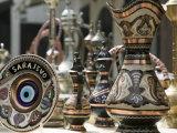 Ottoman Style Souvenirs, Bascarsija Ottoman Era, Sarajevo, Bosnia & Hercegovina Photographic Print by Walter Bibikow