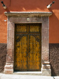 An Ornate Door, San Miguel, Guanajuato State, Mexico Photographic Print by Julie Eggers