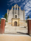 Gateway Before Spanish Colonial Church, Valladolid, Yucatan, Mexico Photographic Print by Julie Eggers