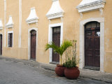 Street Scene, Valladolid, Yucatan, Mexico Photographic Print by Julie Eggers