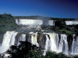 Foz Do Iguacu, Iguacu National Park, Parana, Brazil Photographic Print by Julie Bendlin