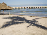 Beach of Progreso, Yucatan, Mexico Photographic Print by Julie Eggers