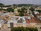 Beautiful City of Lviv, Ukraine Fotodruck von Bill Bachmann